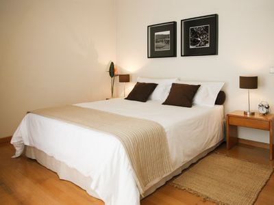 Funchal apartment rental - The comfortable and bright Master Bedroom