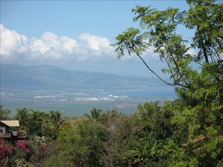 Kula house photo - View of West Maui Mountains, Kahului & Wailuku