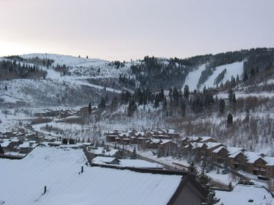 Deck to Deer Valley Resort