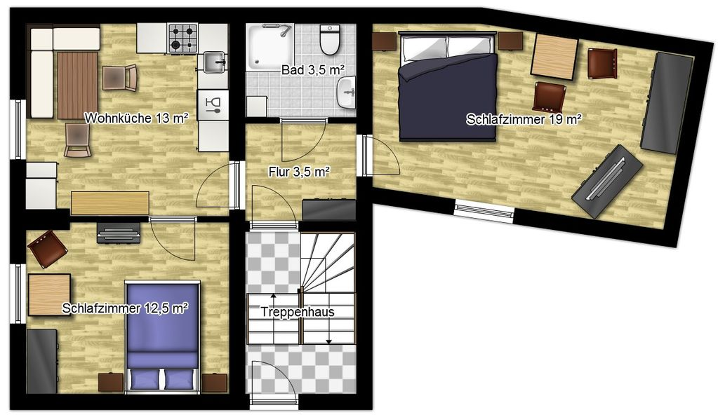 Holiday apartment 249949
