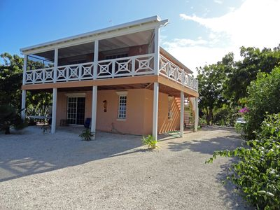 Main Villa on 3/4 of an acre.