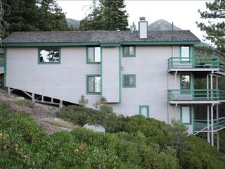Incline Village house photo - Side of 2700 square foot house with 3 decks, large home, 6 bedrooms & 5 baths