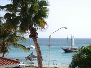 Aruba apartment photo - snorkeling beach, terrace view