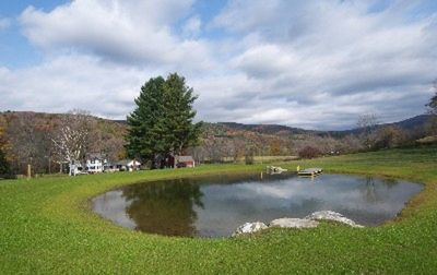 Arlington farmhouse rental - HIDDEN POND FARM