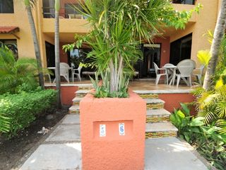Isla Mujeres condo photo - Patio of condos 5 and 6