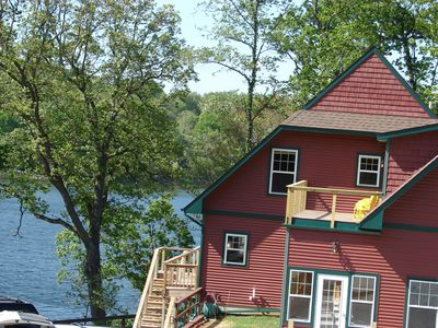 The Lodge House Attached Guest Quarters includes a 9' x 24' private deck.