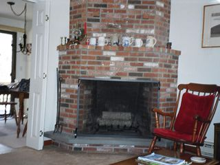 Osterville house photo - Living Room,Fireplace