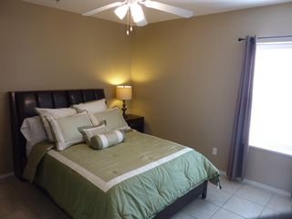 South Padre Island condo photo - Master bedroom with Queen size bed and LCD TV