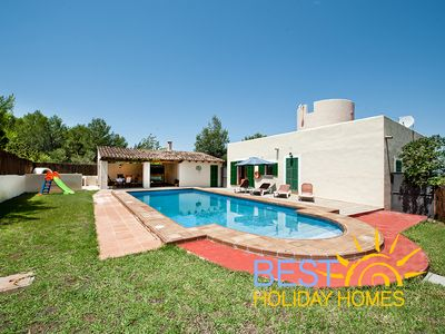 Charming Country House with Private Saltwater Pool, Wifi, up to 4-6 Persons