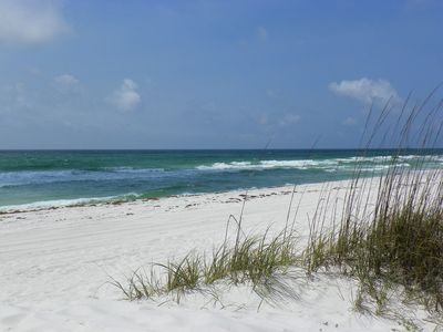 Beach in Front of Townhome