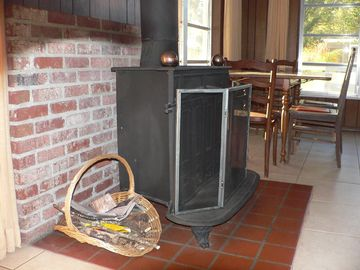 Cozy Franklin Stove....