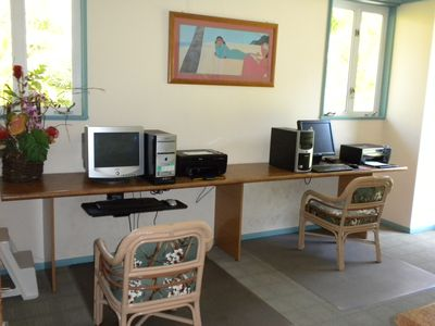 Office with computers