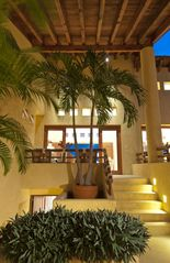 Punta Mita villa photo - Steps to main floor from Entrance