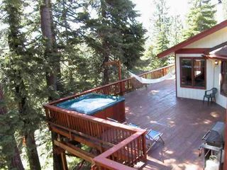 Stateline house photo - View Heavenly Ski Area from 1000 Square Feet of Deck