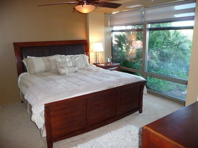 Master Bedroom with Plenty of Light & King Bed