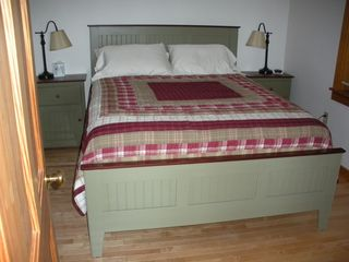 Antrim house photo - Bedroom 1 - Queen Bed