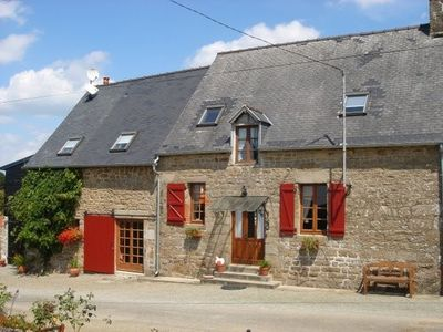 Le Ferre farmhouse rental - La Ferme - Main House from front