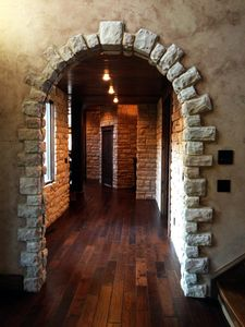 Arch into the Game Room