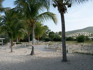 St. Croix villa photo - The Reef Beach...Snooze in the shade!