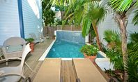 ABSOLUTELY PARADISE - Luxury Home w/ Pvt Pool Just 1 Block To Duval St