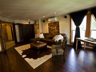 "Hood River villa photo - The Media Room aka ""Man Cave"" is the perfect place to chill..."