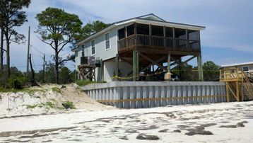 Alligator Point cottage rental - Home right on the beach and Gulf!