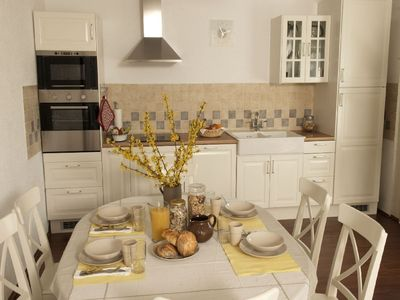 Villach house rental - kitchen apartment B
