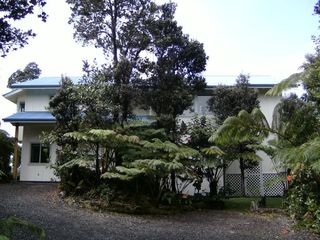Volcano house photo - Front view of house