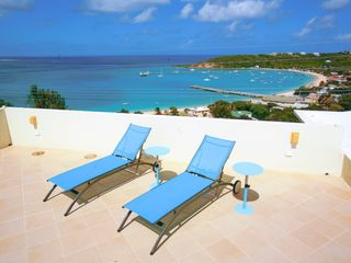 Anguilla villa photo - We have a unique upper level deck to sunbathe or simply enjoy the view.