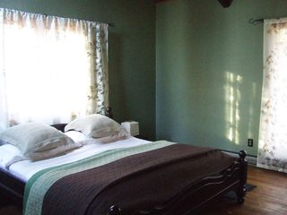 Ithaca lodge photo - Bedroom 2 with King feather bed