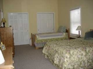 Upstairs Bedroom (2nd Master) with Queen and Twin - Interlochen house vacation rental photo