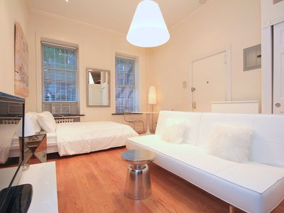 Gorgeous Studio in Beautiful Renovated Brownstone in the Heart of Chelsea