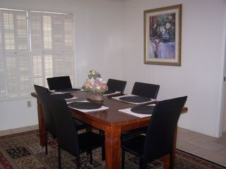 Gulf Shores house photo - The dining room is great for family meals!