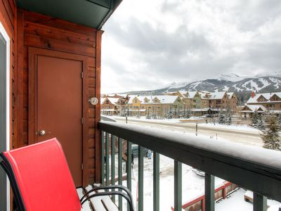 Panorama Alpine Views from Balcony Breckenridge Lodging