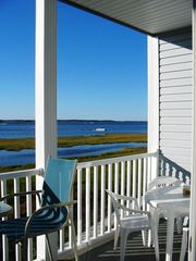 Fenwick Island townhome photo - Watch boats and watercraft come and go on the Bay from the 2nd Floor Balcony