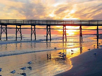 Enjoy many sunsets and sunrises on the best beach in NC.