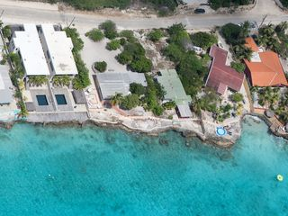 Bonaire villa photo - View from airplane , house on the left is Kas Daas kasdaasbonaire.com