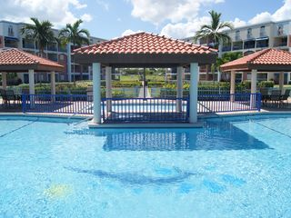 Cabo Rojo apartment photo - Pool gazebos view.
