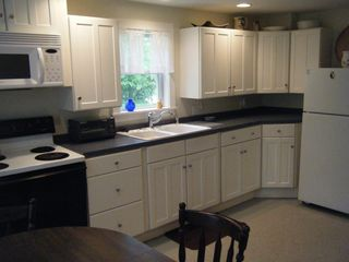 Castine cottage photo - Roomy fully-equipped kitchen with modern appliances