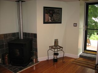 Boston apartment photo - Wood Stove