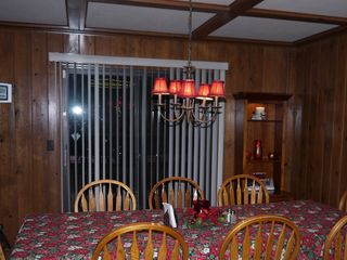 Lake Arrowhead house photo - Dining Room at Christmas