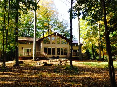 Beach home between south haven saugatuck with lake mi for Glen haven co cabin rentals