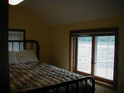 1 of 3 bedrooms with beautiful lake view