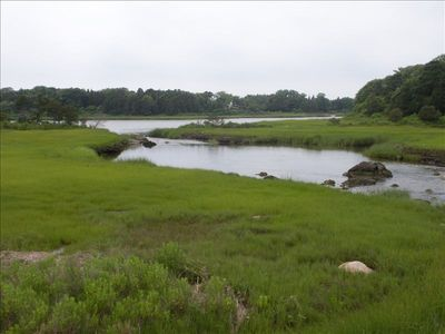 West Falmouth house rental - Salt marsh off bike trail