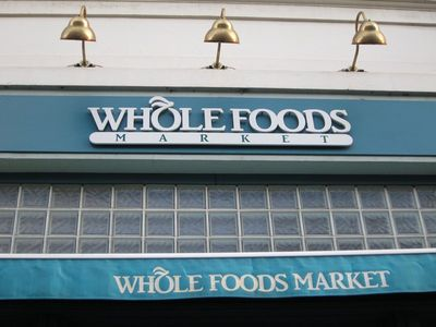 Get organic at Whole Foods -- 5 minutes away
