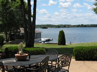 View from patio - Lake Anna house vacation rental photo