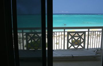 View of Grace Bay Beach from Condo