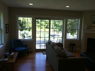 Family Room to 2nd Deck