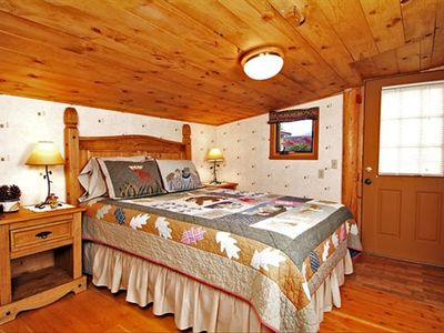 Jackson Hole cabin rental - Cabin Bedroom