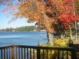 Lake Winnisquam cabin photo - Early October